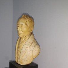 Arte: MAGNIFICO BUSTO FIRMADO PARKER,RICHARD PARKER AC 1764-1774,ESCULPIDO EN CERA,BASE EN ONIX NEGRO. Lote 202311842