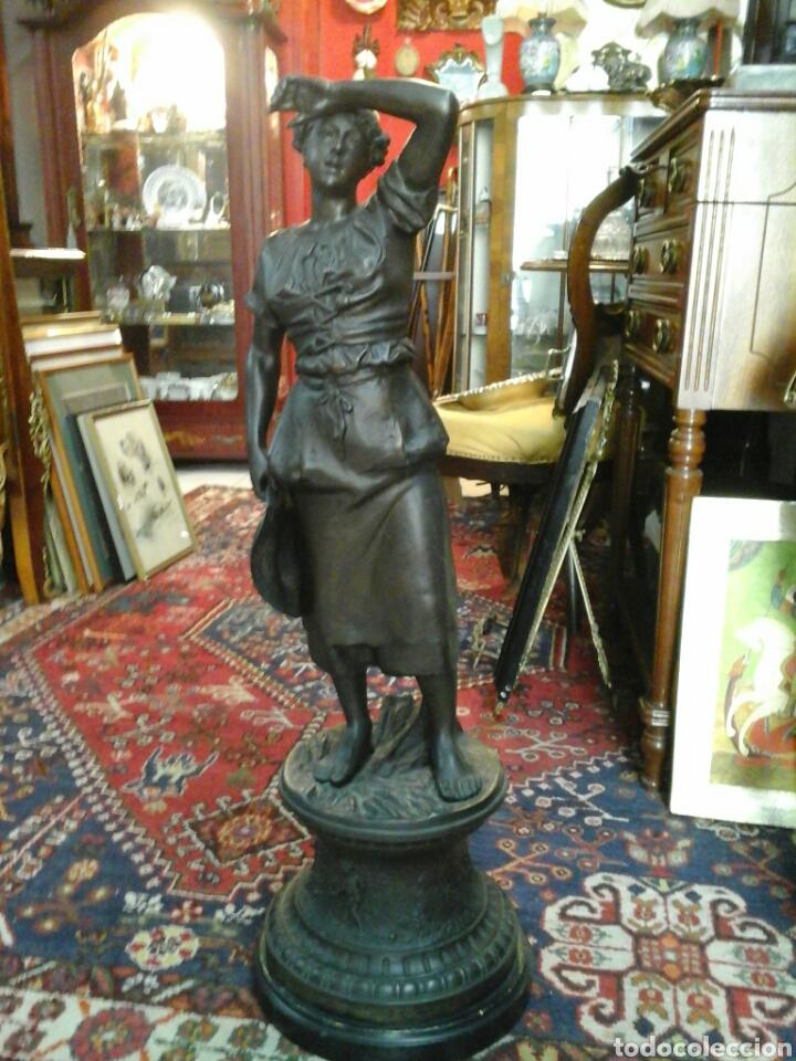 FIGURA DE CALAMINA DE HENRY WEISS (GRAN TAMAÑO) (Arte - Escultura - Otros Materiales)