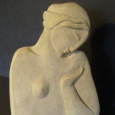 Arte: EXCELENTE FIGURA FEMENINA DE MONTSERRAT FAURA (1947). Lote 205131518