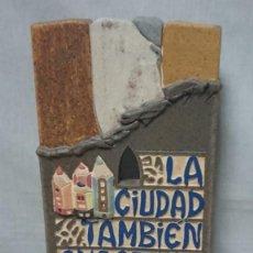 Art: TROFEO ESCULTURA DEL INSTITUTO MUNICIPAL DE CULTURA DE BURGOS IMC POR EL X ANIVERSARIO. Lote 211563034