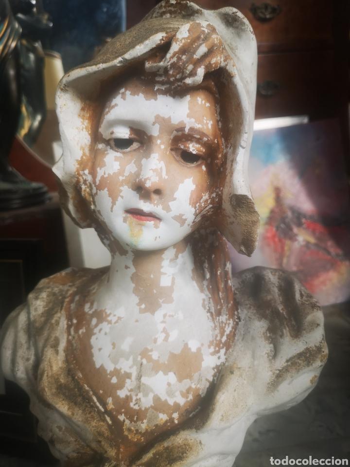 Arte: Escultura modernista, mujer. 50cm - Foto 2 - 211692865