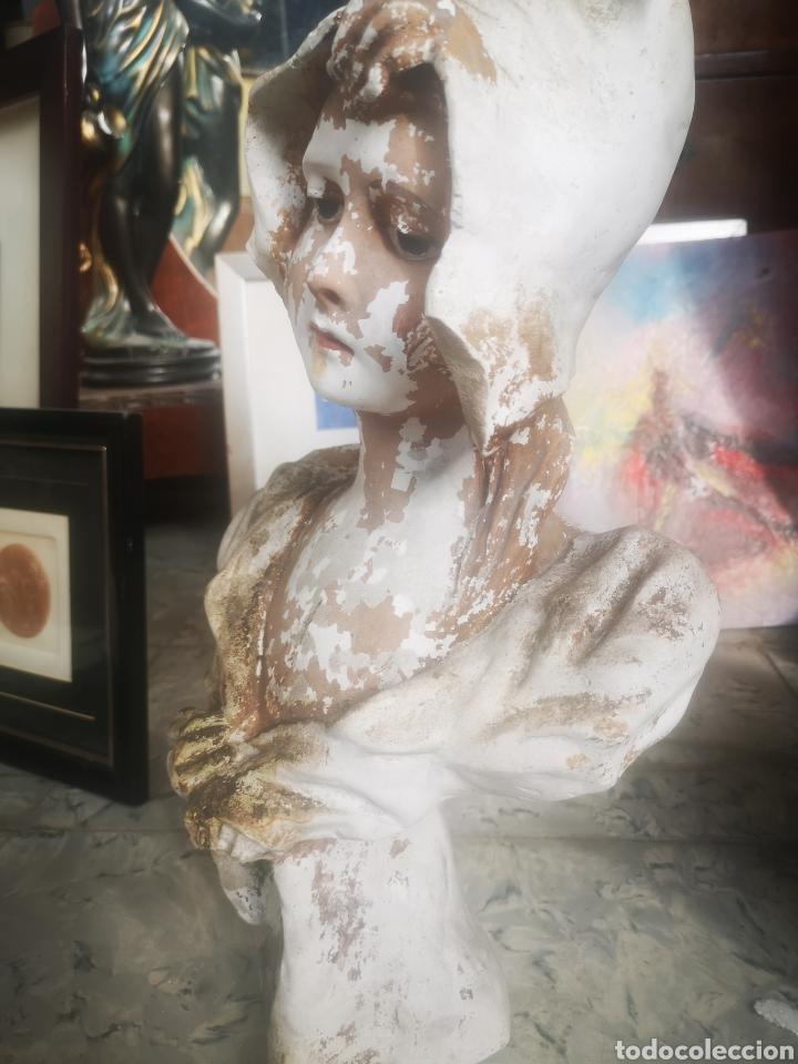 Arte: Escultura modernista, mujer. 50cm - Foto 4 - 211692865