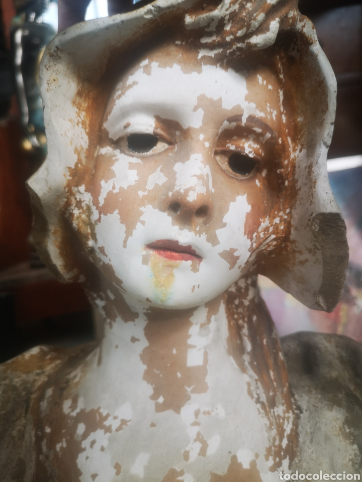 Arte: Escultura modernista, mujer. 50cm - Foto 5 - 211692865