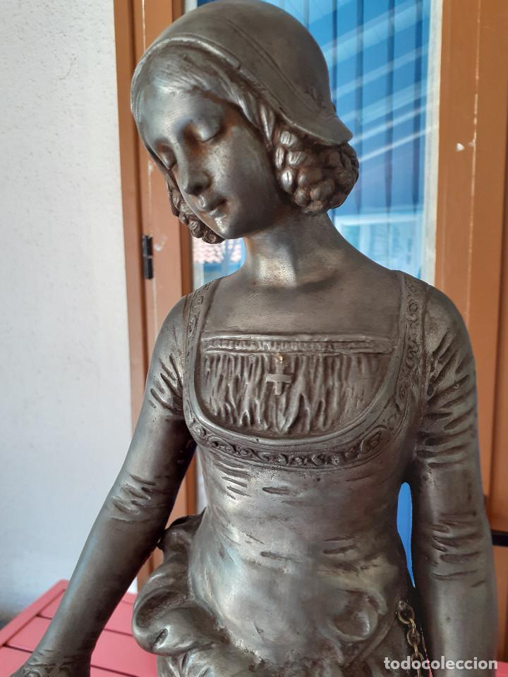 Arte: Escultura del siglo XIX representando la Bondad - Foto 2 - 212418102