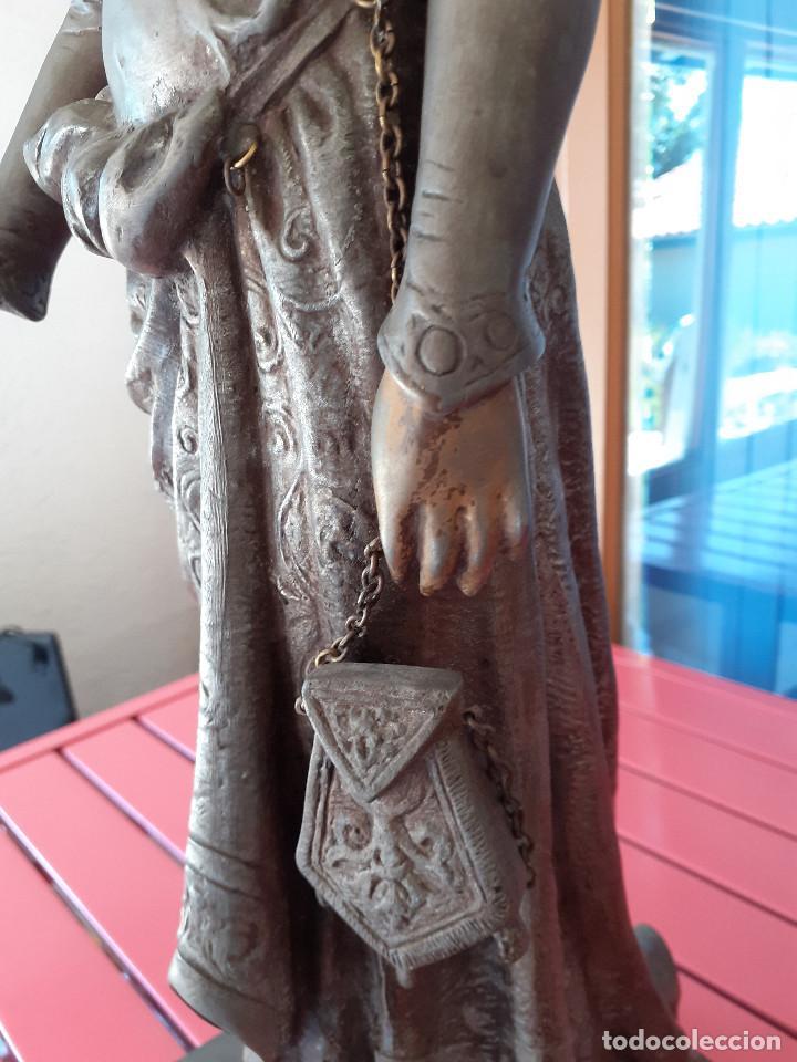 Arte: Escultura del siglo XIX representando la Bondad - Foto 3 - 212418102