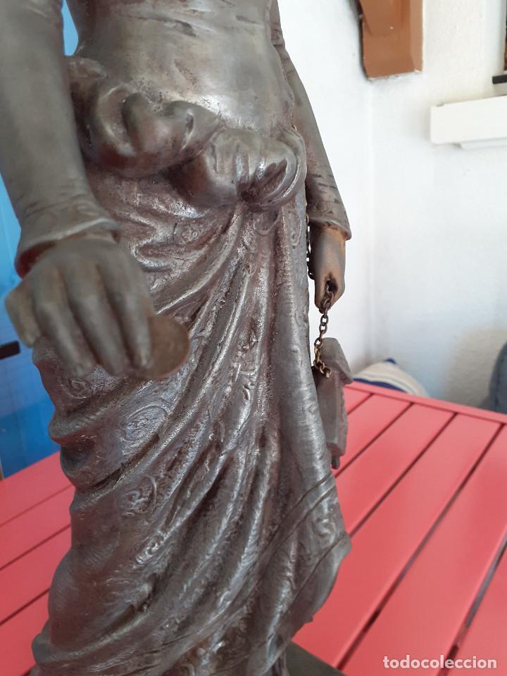 Arte: Escultura del siglo XIX representando la Bondad - Foto 4 - 212418102