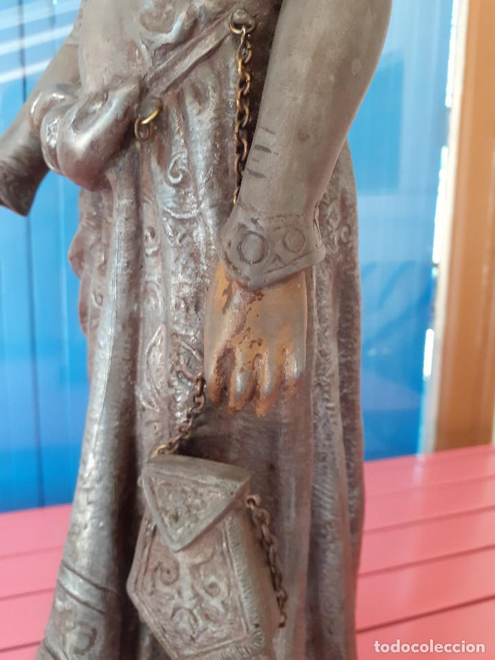 Arte: Escultura del siglo XIX representando la Bondad - Foto 6 - 212418102