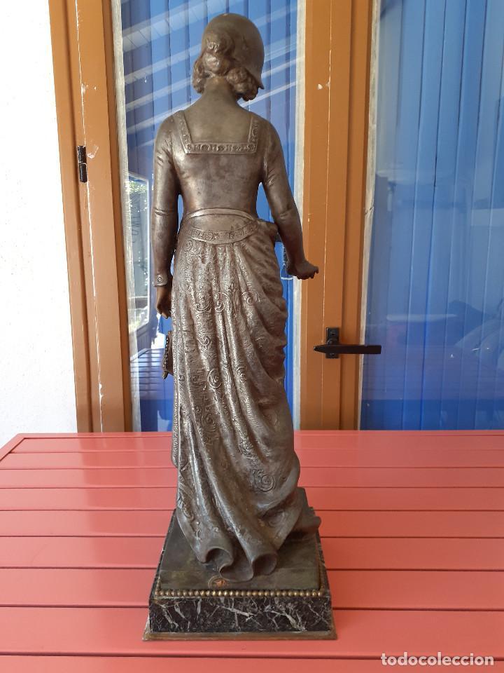 Arte: Escultura del siglo XIX representando la Bondad - Foto 8 - 212418102