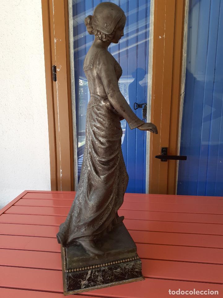 Arte: Escultura del siglo XIX representando la Bondad - Foto 12 - 212418102