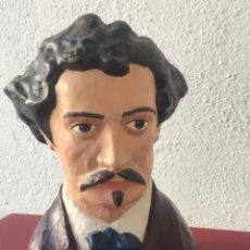 Arte: BUSTO DE MARIANO FORTUNY 1838-1874. REUS TARRAGONA.. Lote 212954158