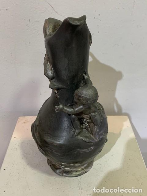 Arte: Van de Voorde, jarrón modernista. - Foto 5 - 218443375