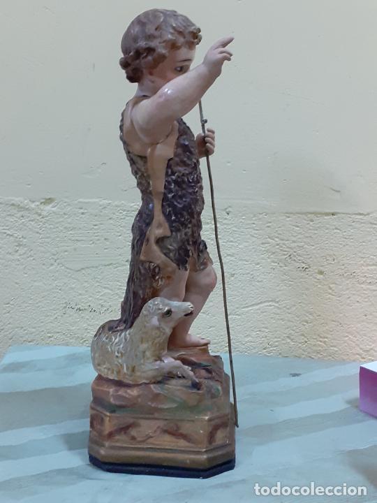 Arte: SAN JUANITO ESTUCO FINALES DE S.XIX (3795) - Foto 6 - 222817361