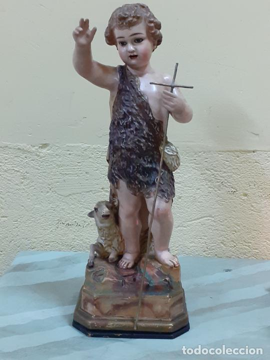 SAN JUANITO ESTUCO FINALES DE S.XIX (3795) (Arte - Escultura - Otros Materiales)