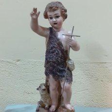 Arte: SAN JUANITO ESTUCO FINALES DE S.XIX (3795). Lote 222817361