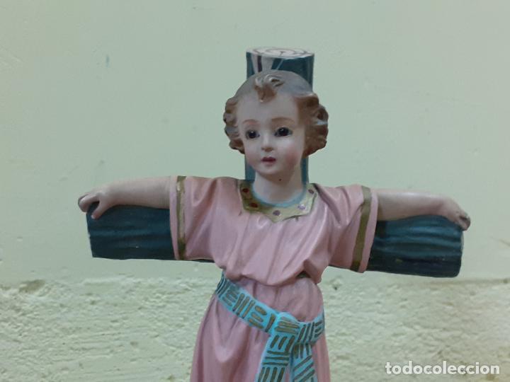 Arte: NIÑO JESUS CRUCIFICADO SELLADO (3796) - Foto 2 - 222817780