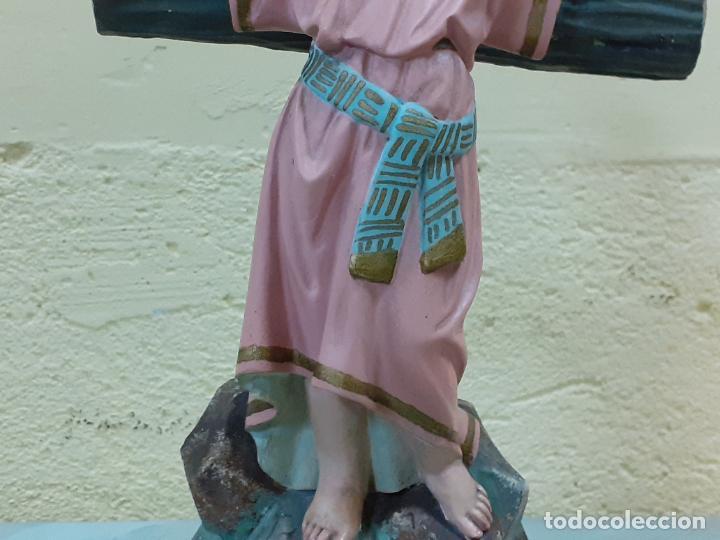 Arte: NIÑO JESUS CRUCIFICADO SELLADO (3796) - Foto 3 - 222817780