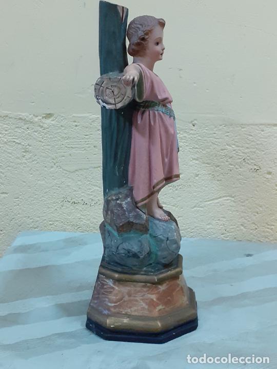 Arte: NIÑO JESUS CRUCIFICADO SELLADO (3796) - Foto 5 - 222817780