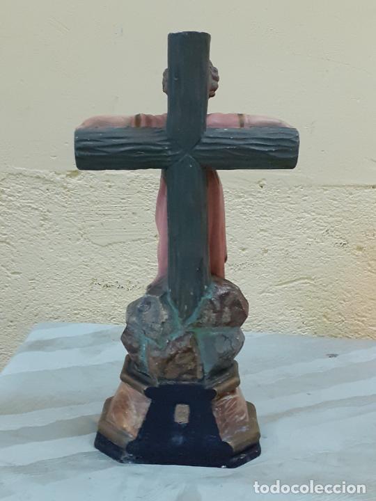 Arte: NIÑO JESUS CRUCIFICADO SELLADO (3796) - Foto 6 - 222817780