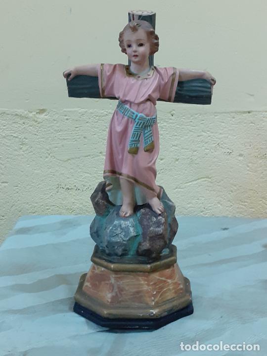 Arte: NIÑO JESUS CRUCIFICADO SELLADO (3796) - Foto 10 - 222817780
