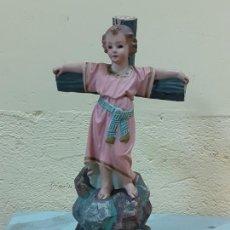 Arte: NIÑO JESUS CRUCIFICADO SELLADO (3796). Lote 222817780