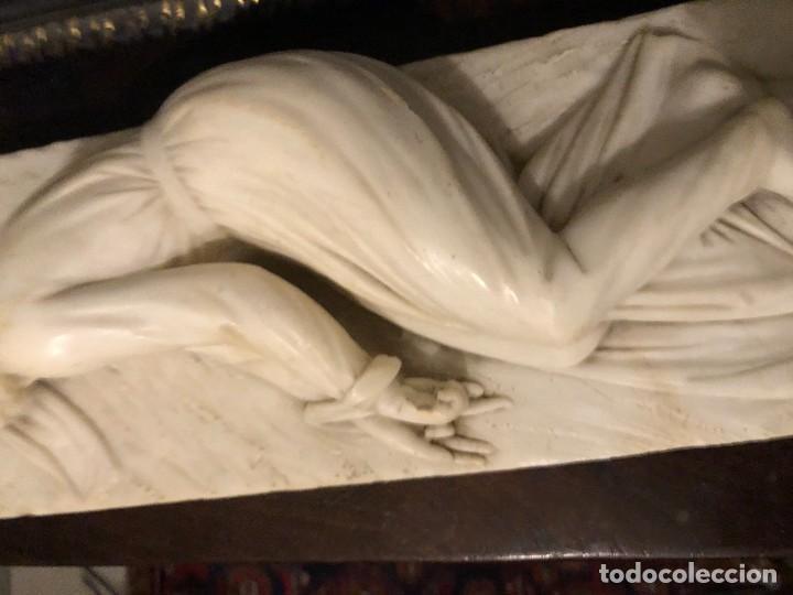 Arte: EXTRAORDINARIA SANTA CECILIA EN MARMOL, S. XIX - Foto 5 - 227187886