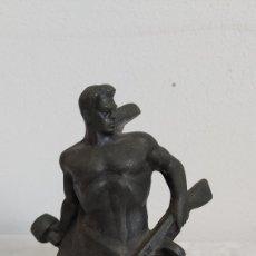 Arte: ESCULTURA SOLDADO RUSO. MONUMENTO HEROES BATALLA DE ESTALINGRADO. SEGUNDA GUERRA MUNDIAL. Lote 228013235
