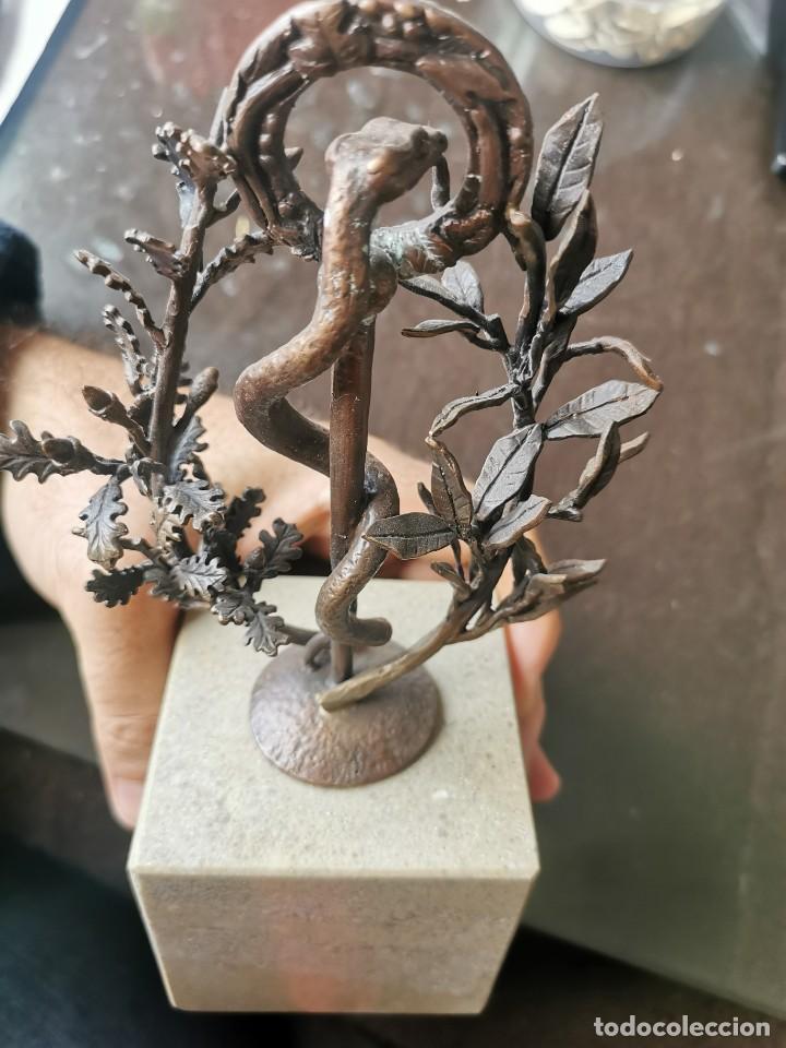 Arte: Escultura de cobre y mármol.Miguel Moreno.Granada - Foto 6 - 150740410