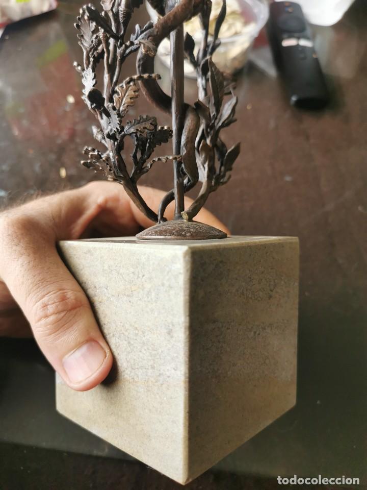 Arte: Escultura de cobre y mármol.Miguel Moreno.Granada - Foto 7 - 150740410