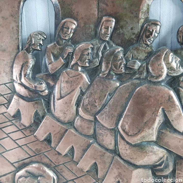 Arte: Santa Cena por L. Del Rio Repujado - Foto 4 - 231367525