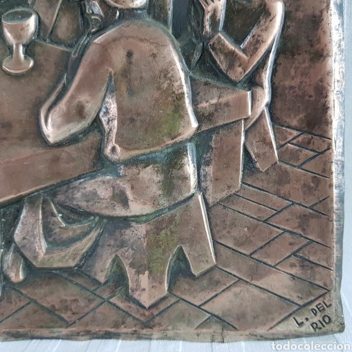 Arte: Santa Cena por L. Del Rio Repujado - Foto 5 - 231367525