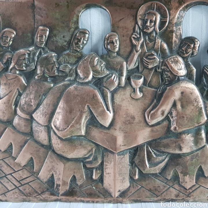 Arte: Santa Cena por L. Del Rio Repujado - Foto 6 - 231367525
