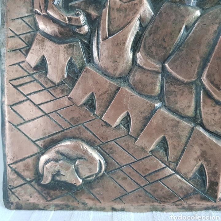 Arte: Santa Cena por L. Del Rio Repujado - Foto 7 - 231367525