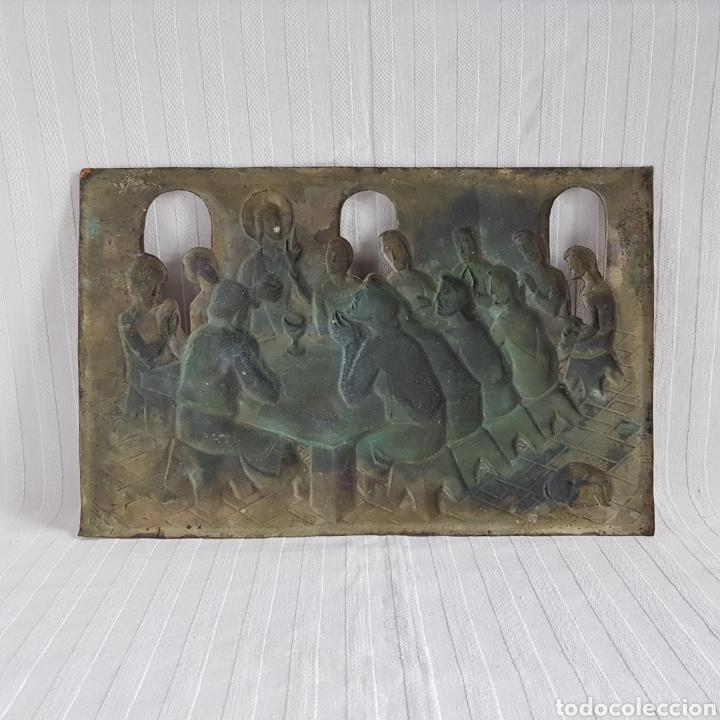 Arte: Santa Cena por L. Del Rio Repujado - Foto 8 - 231367525