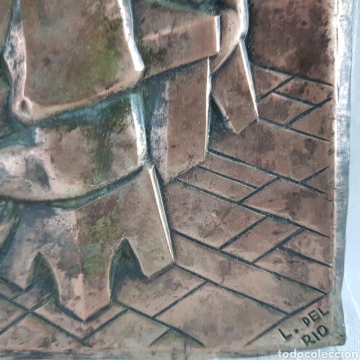 Arte: Santa Cena por L. Del Rio Repujado - Foto 9 - 231367525