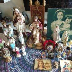 Art: GRAN LOTE RELIGIOSO. Lote 242105285