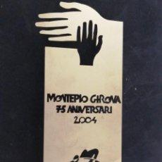 Arte: ESCULTURA INOX PARA MONTEPIO GIRONA, DOMENECH FITA, FIRMADA 2004, (22X9). Lote 244204845