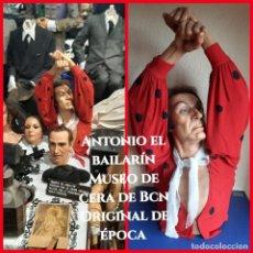 Arte: (MCE-01)ANTONIO EL BAILARIN-CUEVA GITANA-MUSEO DE CERA DE BARCELONA. Lote 244555325