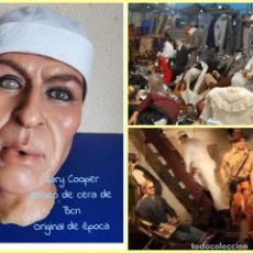 Arte: (MCE-04)BUSTO DE CERA DE GARY COOPER ???-MUSEO DE CERA DE BARCELONA. Lote 244628970