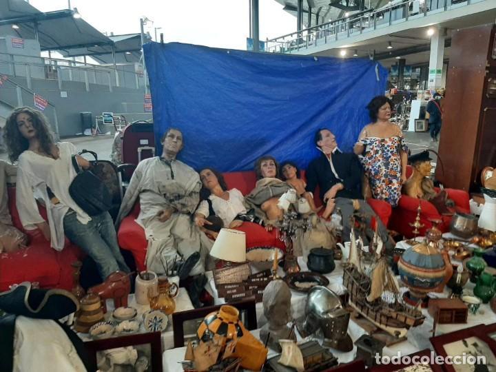 Arte: (MCE-07)BUSTO DE CERA DE PASAJE DEL TERROR-MUSEO DE CERA DE BARCELONA - Foto 3 - 244786250