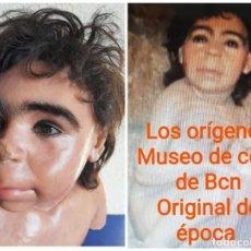Arte: (MCE-11)BUSTO DE CERA NIÑO NEANDERTAL-MUSEO DE CERA DE BARCELONA. Lote 245049445