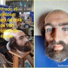 Arte: (MCE-12)BUSTO DE CERA WILFREDO EL VELLOSO-CONDE DE BARCELONA-MUSEO DE CERA DE BARCELONA. Lote 245052435