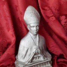 Arte: FIGURA SAN GENARO. S.XIX. ESCULTURA RELIGIOSA IGLESIA NAPOLES.. Lote 245374850