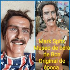 Arte: (MCE-15)BUSTO DE CERA MARK SPITZ-MUSEO DE CERA DE BARCELONA. Lote 245381035