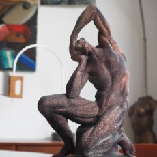 Arte: ESCULTURA MODELO ANATOMICO ECORCHE PIERRE PUGET. ANATOMIA. DESOLLADO. Lote 246530065