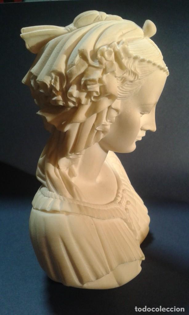 Arte: Madonna renacentista, mármol reconstituido. Próxima a Arnaldo Gianelli, siguiendo a Filippo Lippi - Foto 2 - 247295060