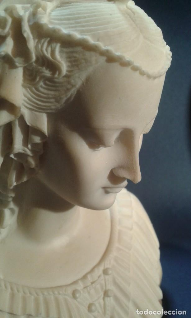Arte: Madonna renacentista, mármol reconstituido. Próxima a Arnaldo Gianelli, siguiendo a Filippo Lippi - Foto 6 - 247295060