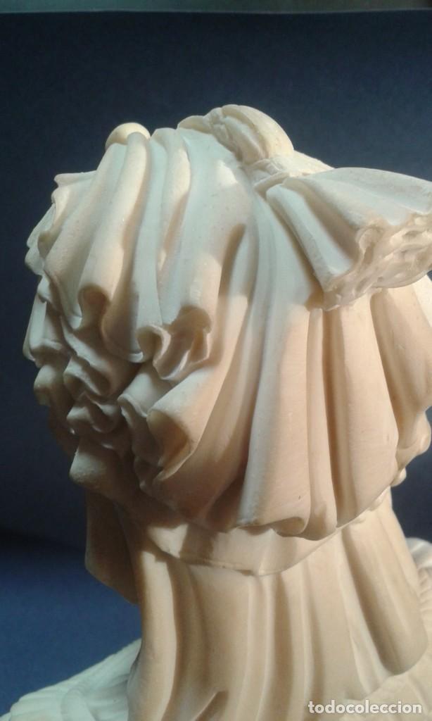 Arte: Madonna renacentista, mármol reconstituido. Próxima a Arnaldo Gianelli, siguiendo a Filippo Lippi - Foto 8 - 247295060