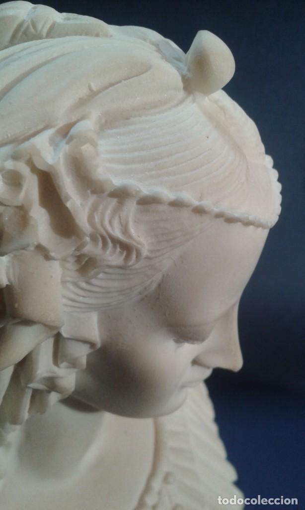 Arte: Madonna renacentista, mármol reconstituido. Próxima a Arnaldo Gianelli, siguiendo a Filippo Lippi - Foto 9 - 247295060