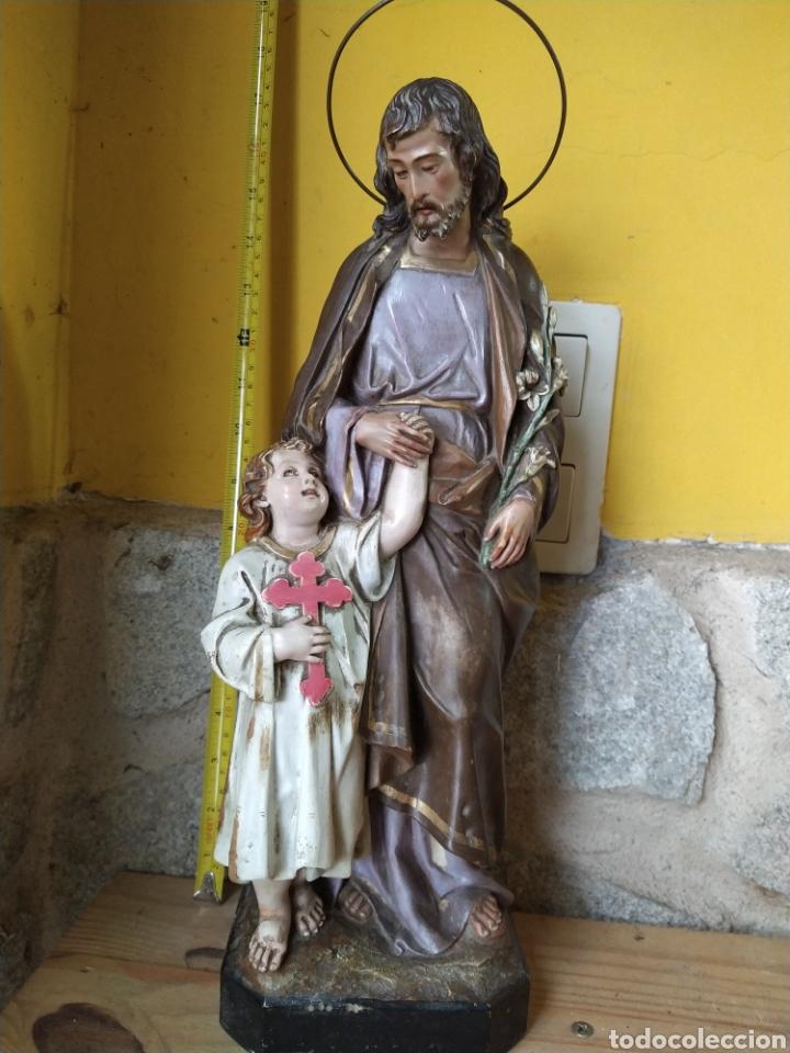 Arte: San José olot base de madera - Foto 3 - 248088260