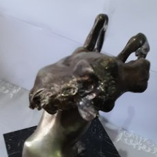 Arte: CABALLO DE PLATA S.XVIII?PUNZONADO TRÉBOL 4 HOJAS.31 X 24 X 19 CM. 4,4 KG. VER FOTOS Y DESCRIPCIÓN.. Lote 253289225